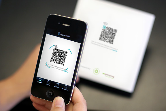 QR barcodes make history on Global TV