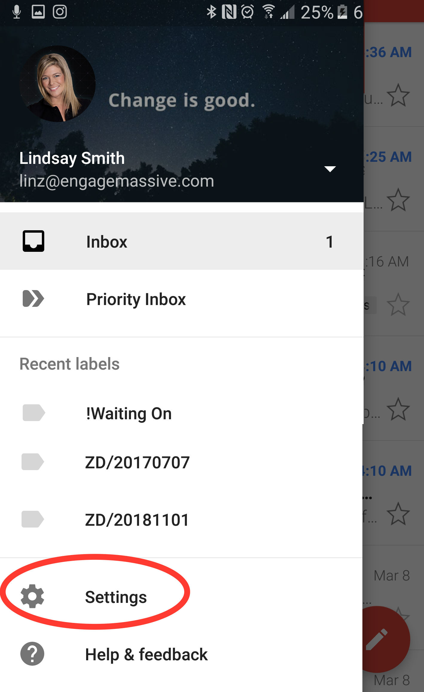 How to Change Notification Sound for Gmail App on Samsung